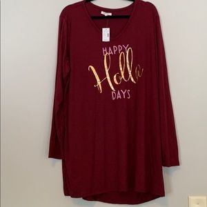 Holiday Shirt Size 2X NWT
